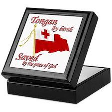 Tongan by birth Keepsake Box