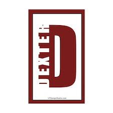 Dexter Vertical Stickers