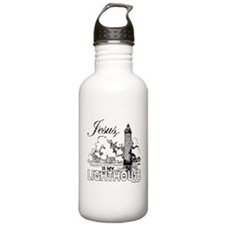 JESUS IS MY LIGHTHOUSE Sports Water Bottle