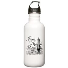 JESUS IS MY LIGHTHOUSE Water Bottle