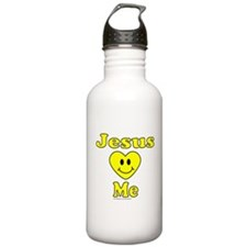 JESUS LOVES ME Sports Water Bottle