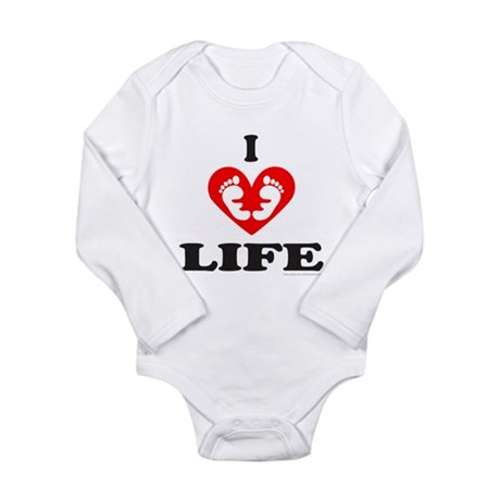 PRO-LIFE CHRISTIAN Long Sleeve Infant Bodysuit