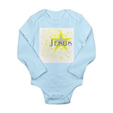 JESUS Long Sleeve Infant Bodysuit