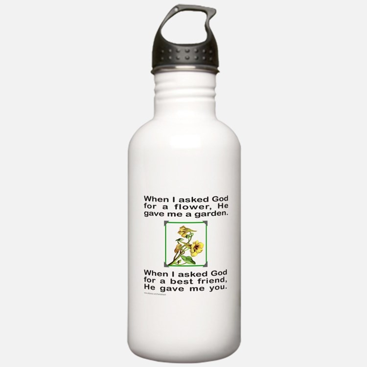 BFF GOD GAVE ME YOU Water Bottle