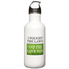 I FOUGHT THE LAWN Water Bottle