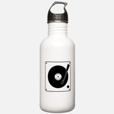 VINYL RECORD Sports Water Bottle