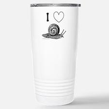I HEART SNAILS Travel Mug
