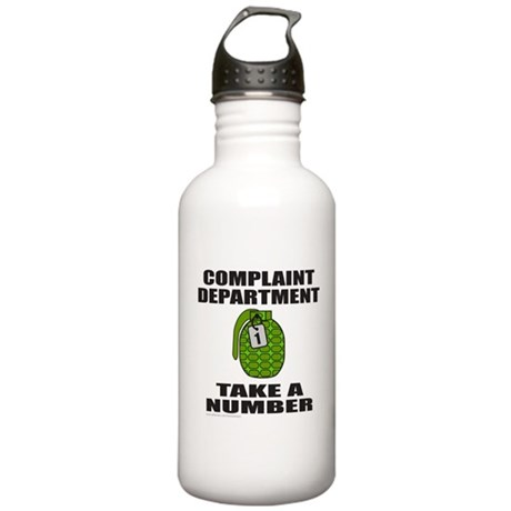 COMPLAINT DEPARTMENT Stainless Water Bottle 1.0L