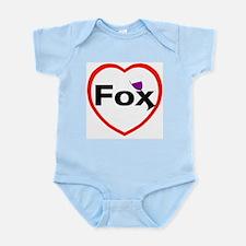 I love Fox Infant Creeper