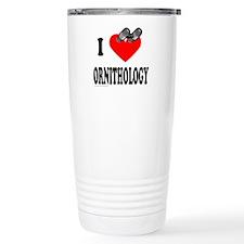 I HEART ORNITHOLOGY Travel Mug