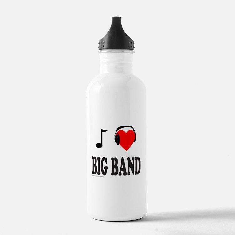 BIG BAND MUSIC Water Bottle