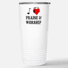 I HEART PRAISE & WORSHIP Travel Mug