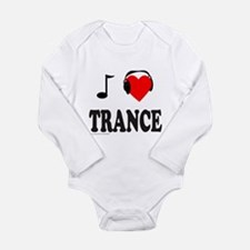 TRANCE MUSIC Long Sleeve Infant Bodysuit