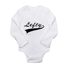 LEFTY Long Sleeve Infant Bodysuit