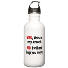 YES, THIS IS MY TRUCK Water Bottle