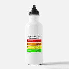 REDNECK SECURITY THREAT Water Bottle