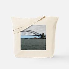 Opera House & Harbor Bridge Tote Bag