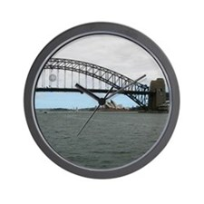 Opera House & Harbor Bridge Wall Clock