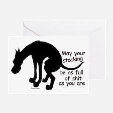 Dane Full Greeting Card