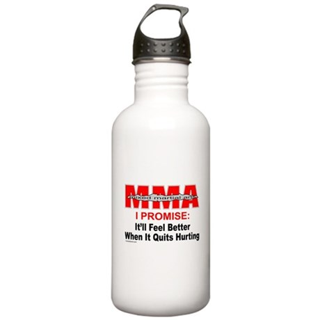 MMA MIXED MARTIAL ARTS Stainless Water Bottle 1.0L