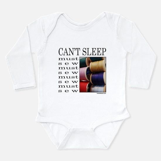 SEW/SEWING Long Sleeve Infant Bodysuit