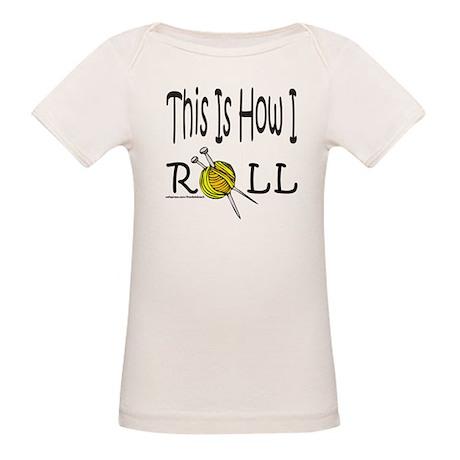 KNIT/KNITTING Organic Baby T-Shirt