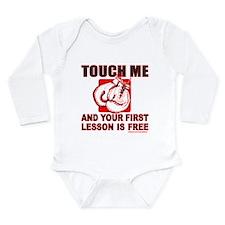 BOXING GLOVES Long Sleeve Infant Bodysuit