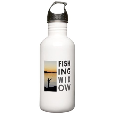 FISHING WIDOW Stainless Water Bottle 1.0L