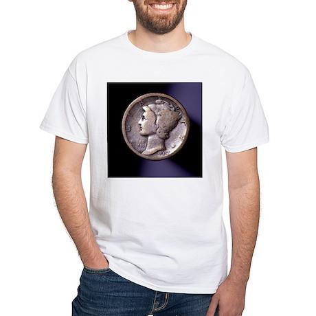 1917 Dime White T-Shirt