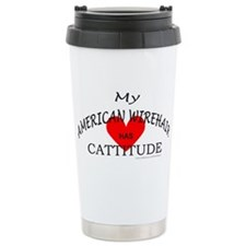 AMERICAN WIREHAIR Travel Mug