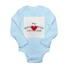 RUSSIAN BLUE Long Sleeve Infant Bodysuit