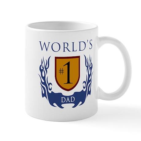 World's Number 1 Dad Mug