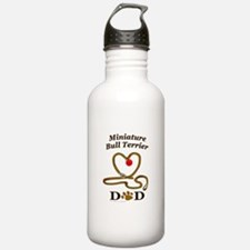 MINIATURE BULL TERRIER Water Bottle