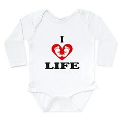 PRO-LIFE/RIGHT TO LIFE Long Sleeve Infant Bodysuit