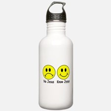 NO KNOW Sports Water Bottle