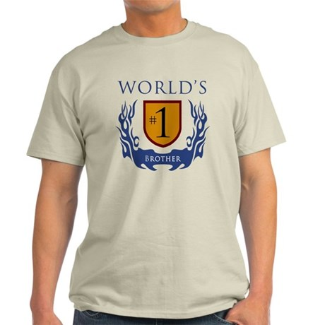 World's Number 1 Brother Light T-Shirt