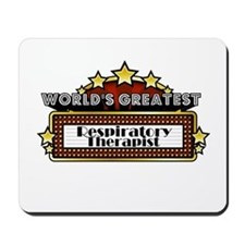 World's Greatest Resp. Therap Mousepad