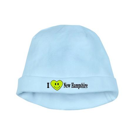 LOVE NEW HAMPSHIRE baby hat