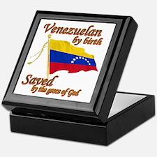 Venezuelan by birth Keepsake Box