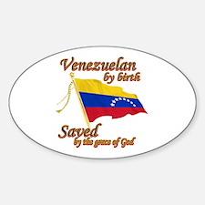 Venezuelan by birth Decal