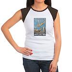 Vintage Atlantic City Women's Cap Sleeve T-Shirt