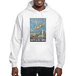 Vintage Atlantic City Hooded Sweatshirt