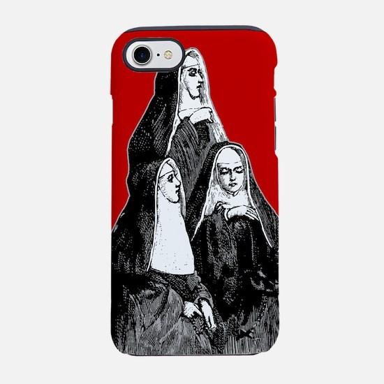 3-nuns_8x12.gif iPhone 7 Tough Case