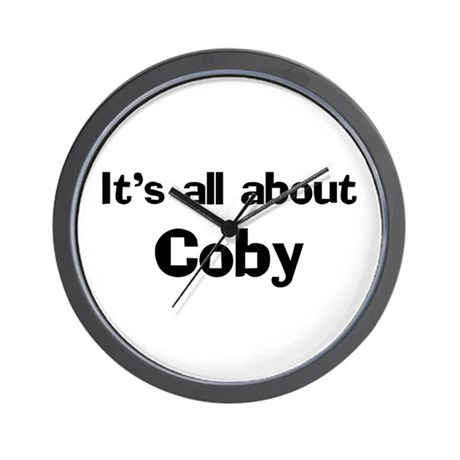 It's all about Coby Wall Clock