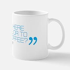 Michael Schumacher 'Coffee' quote mug