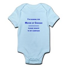 Running for Mayor of Chicago Infant Bodysuit