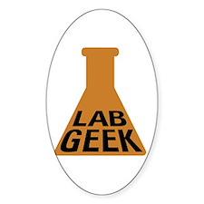 Lab Geek Decal