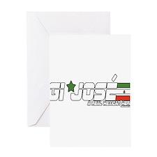 GI JOSE Greeting Card