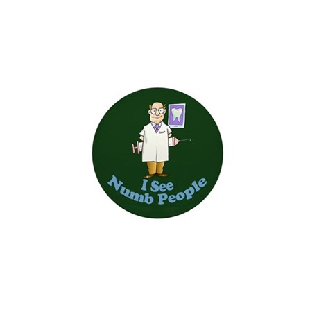 I See Numb People Mini Button (100 pack)