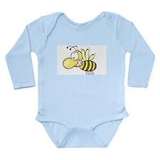 Blushing Bee Long Sleeve Infant Bodysuit